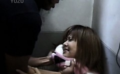 Teen Jap girl turned into sexual salve and fucked