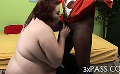 Black dick for fat girl