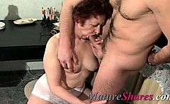 Real granny hardcore first time