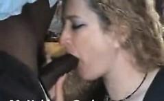Blonde mature amateur wife interracial cuckold