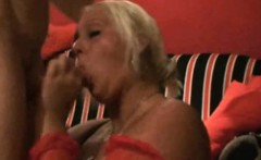 chubby woman with super tits having hot sex