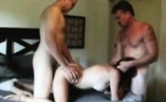 Two amateur guys fucking a mature wife