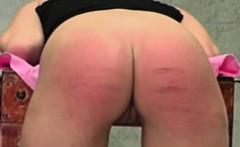 cute ass spanked all red