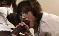 Lady Sonia cummed on by black guy