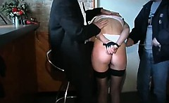 Very hot mature slut with amazing butt gets tied for some