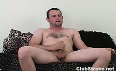 Horny Straight Guy Sean Masturbating