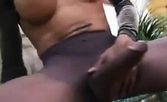 Shemale With A Thick Dick