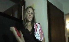 sister in law does a striptease