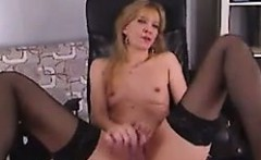 MILF Masturbating With Her Toy