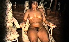 Yvonne naked at night