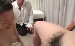 Pregnant asian sucking nappy mans cock
