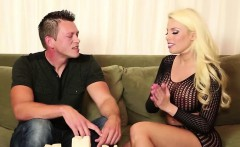 Britney Amber pulls her client dick