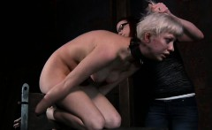 Savage gratifying for sexy lass