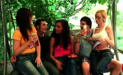 outdoor orgy with hot teens