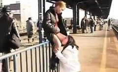 Young Lesbians Pissing Around In Public