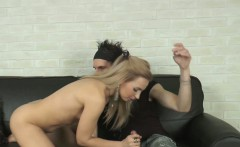 Vera getting her tight shaved pussy pounded.