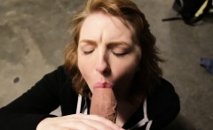 Cute Office Slut Giving Me Head POV