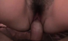 Perky natural brunette riding cock in POV style