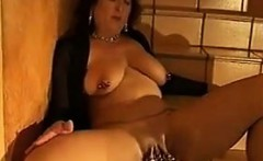 Pierced Mature Slut Getting Her Pussy Fisted
