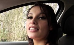French slut Nikita Bellucci sucks and slammed in the car