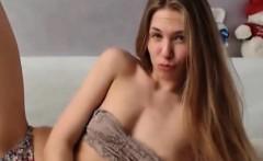 Cute Teen Masturbating her Tight Pussy