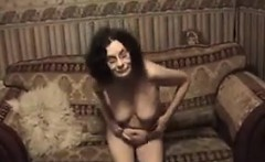 Granny Getting Undressed For The Camera