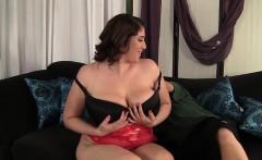 Beautiful plumper Angel DeLuca loves to get fucked hard
