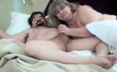 Grandma Gives Her Lover A Nice Blowjob