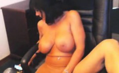 Busty MILF Loves Masturbating With Toys