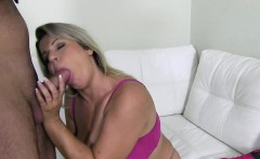 Plumper casted euro pussy and tit fucked