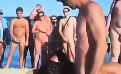 Swingers Fucking In Public At The Beach