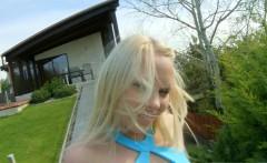 All Internal blonde Lola Taylor takes a big cumshot