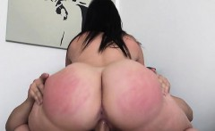 Curvy Slut Devours Big Cock And Rides It