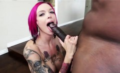 Anna Bell Peaks takes a thick black cock