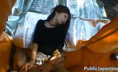Hino Hikari Asian doll likes travel sex