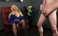 Posh mistress humiliates