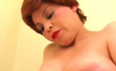 Big Bellied Mamma Masturbated