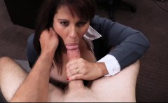 Milf gets fucked by horny pawn man to bail out her husband