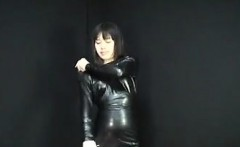 She is from ASIA-MEET.COM - Japanese Latex Dress 054