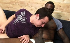 Ryder Woods Takes His First Black Cock In The Ass