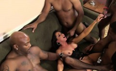 Kaylynn Gets Gang Banged By Black Guys