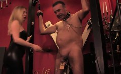 Painful cbt mistress with another worthless