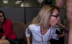 Exgf licked out at the office party