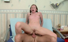 skinny step sister seduce to fuck anal by brother