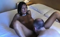 Hot chick fucked by an older chap