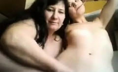 Ugly Lesbian Whores Fooling Around
