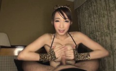 Perfect tits Japanese sex doll Kurea creampied and facialed