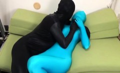 Subtitled Japanese ZENTAI fingerbanging to orgasm
