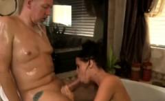 big boobed german masseur jerks off a clients big bone