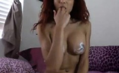 Hot Cam Slut With A Dildo